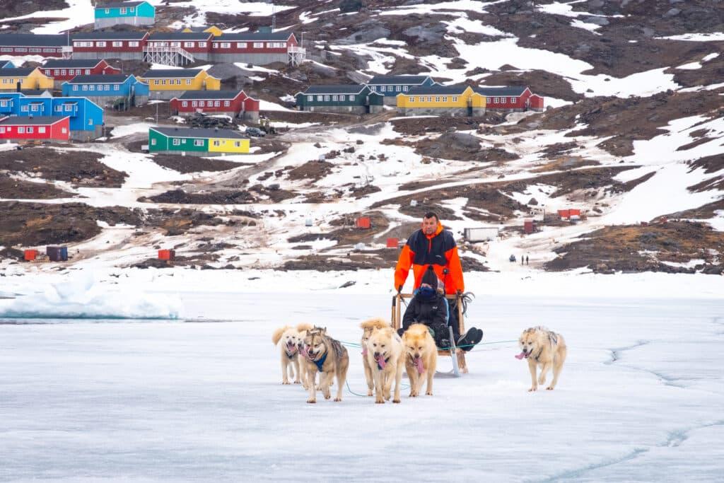 Tasiilaq dogsledding