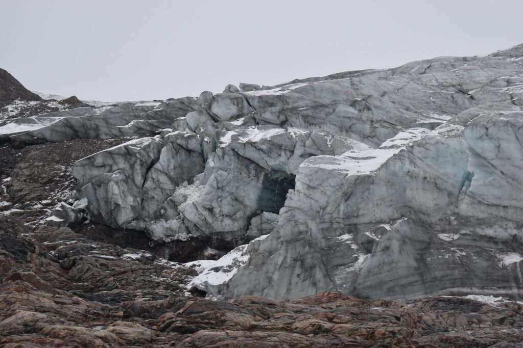 Russell Glacier in Greenland