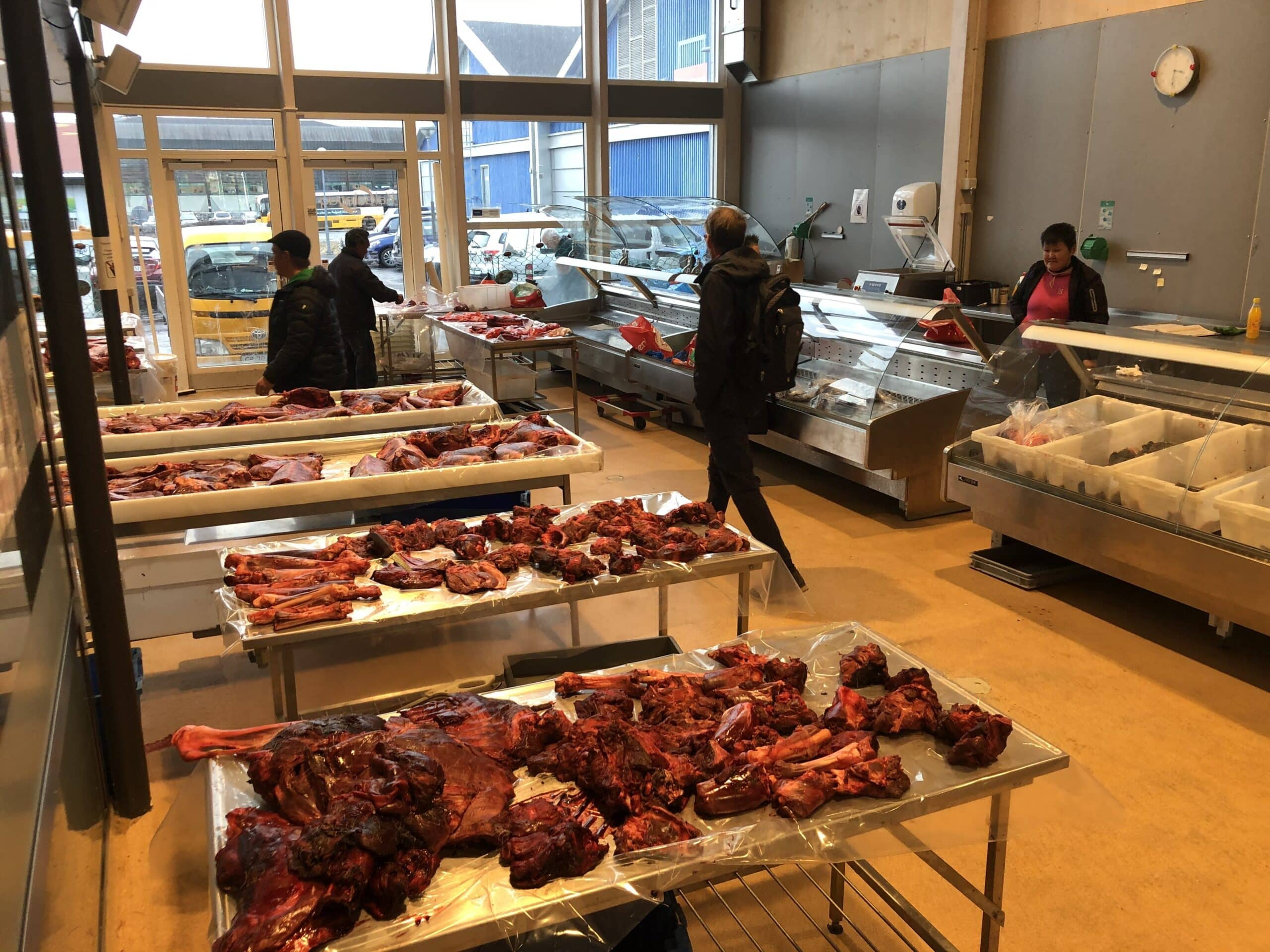 Fish market in Nuuk, tasty and fresh!