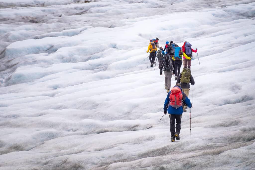 Glacier in the Karale Fjord