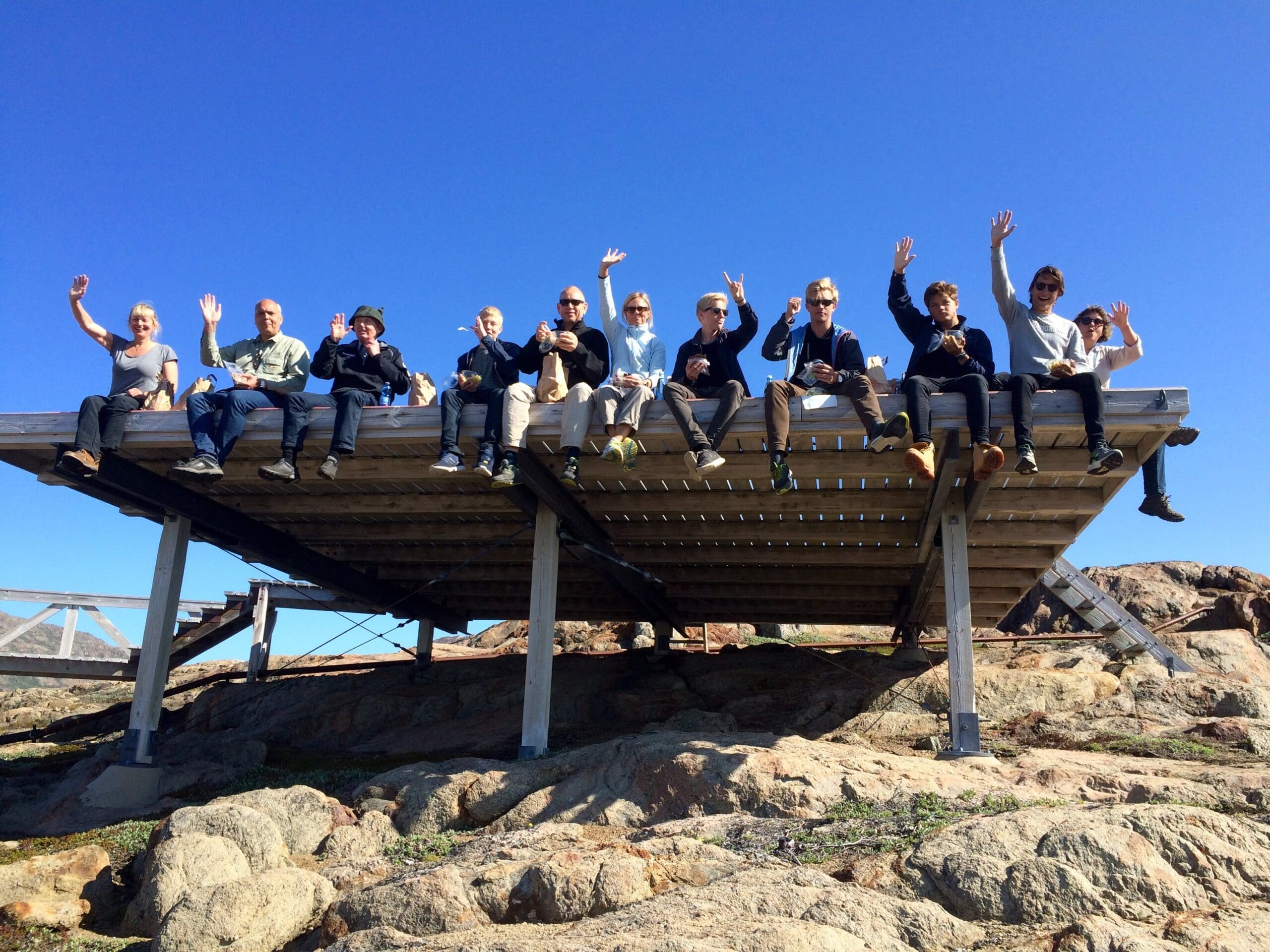 Guided hikes in Greenland