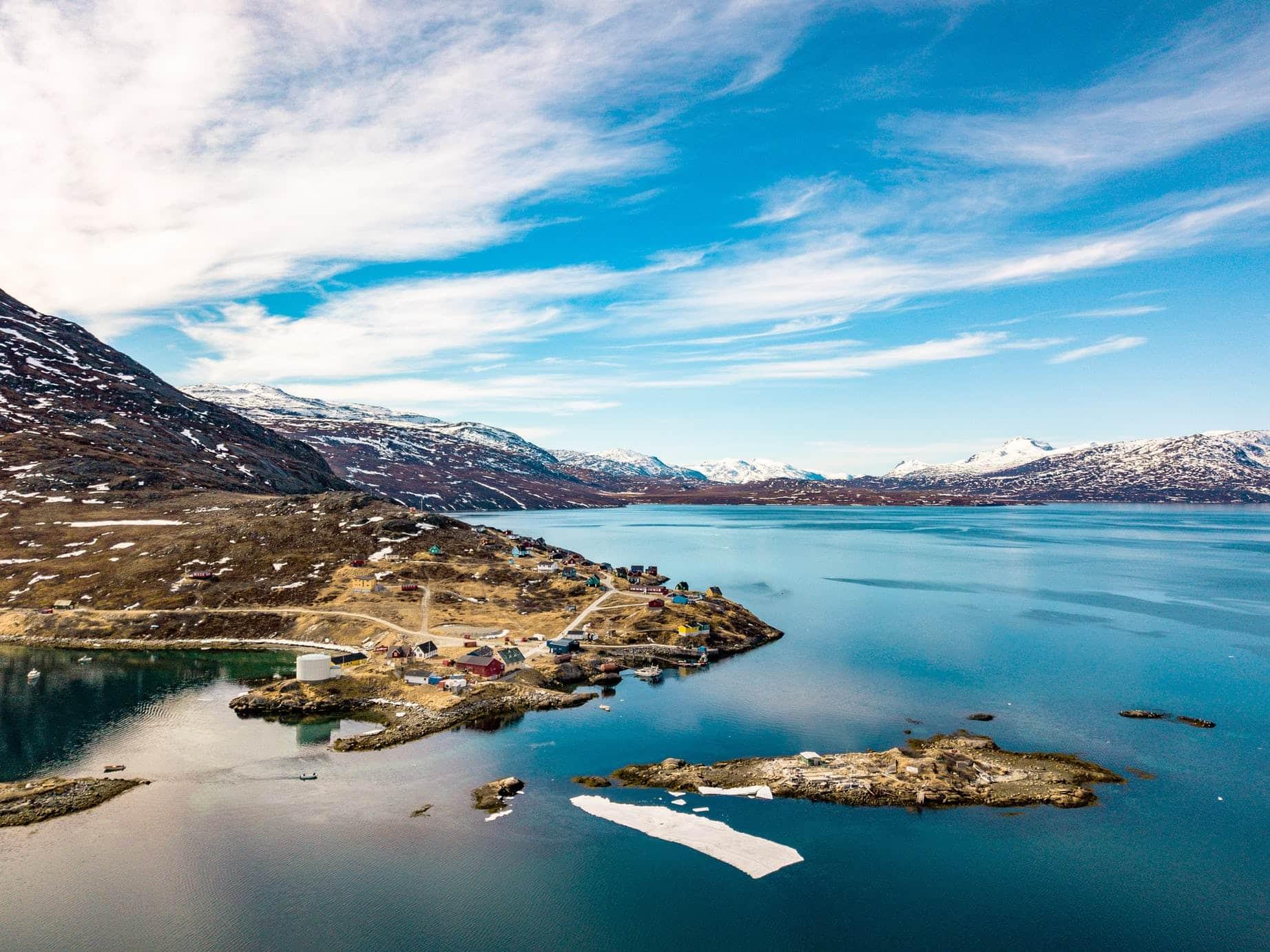 Fra Island til Grønland
