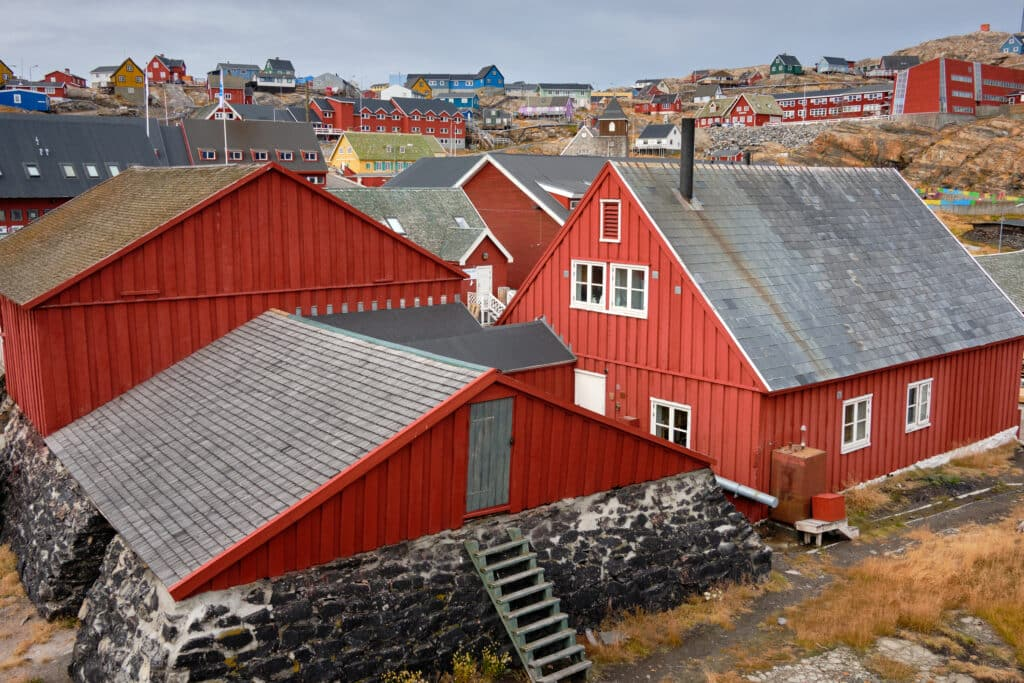Uummannaq historical buildings