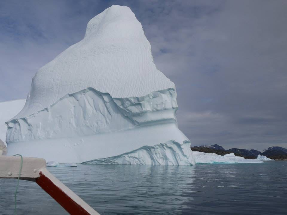 How does it feel to reach Greenland again?