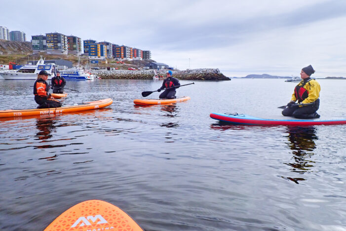 Introduction to Stand-up Paddleboarding (SUP) | Nuuk | West Greenland