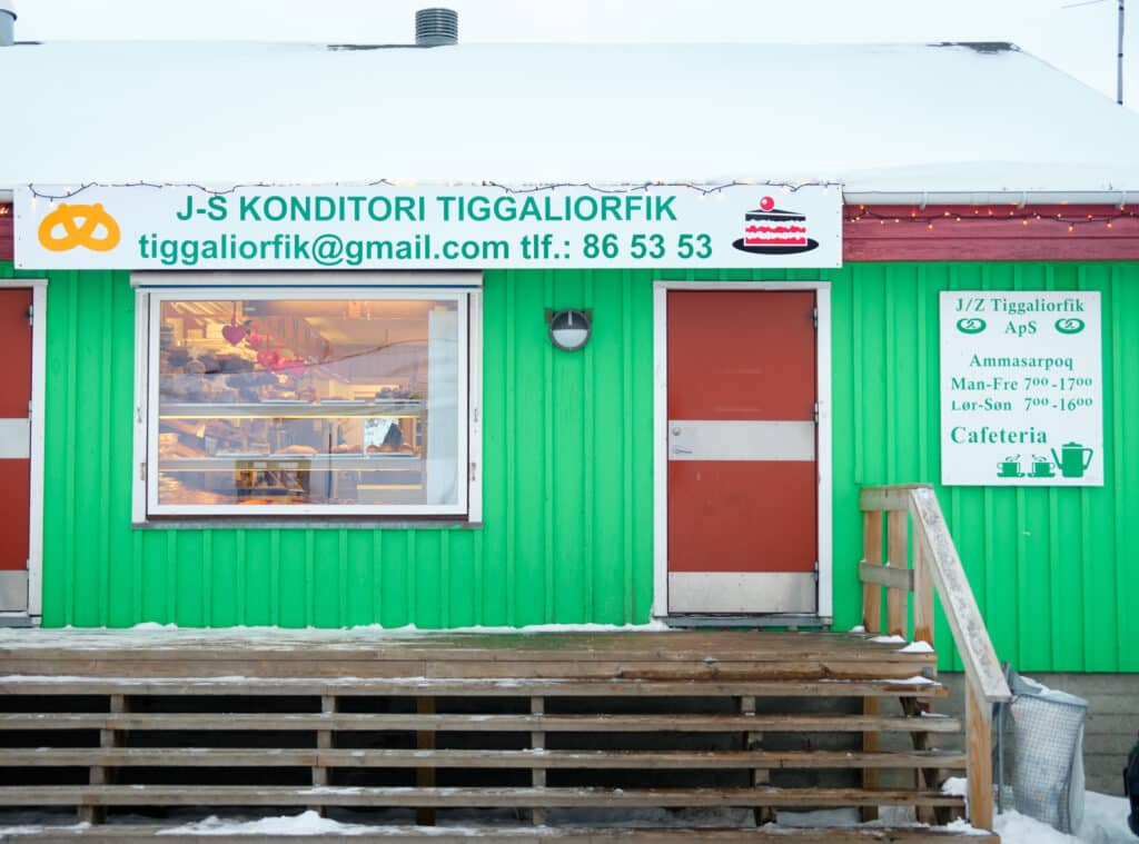 JZ bakery in Sisimiut