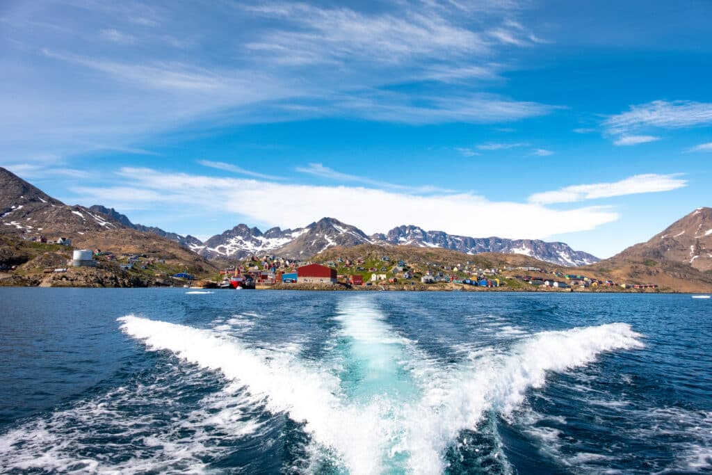 Kulusuk boat transfer