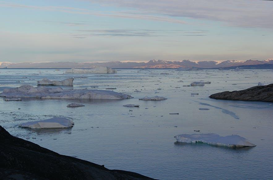 Beautiful icefjord of Ilulissat