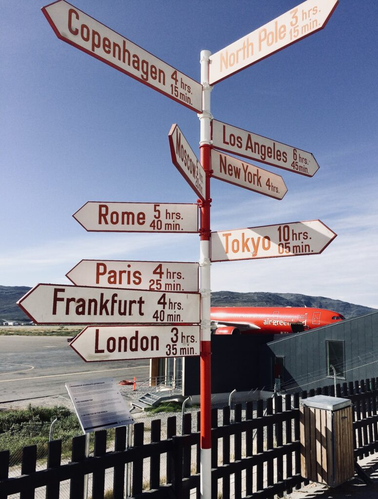 Signs in Sisimiut
