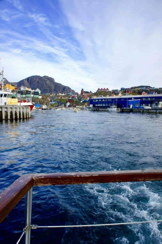 Boat-ride views in Sisimiut