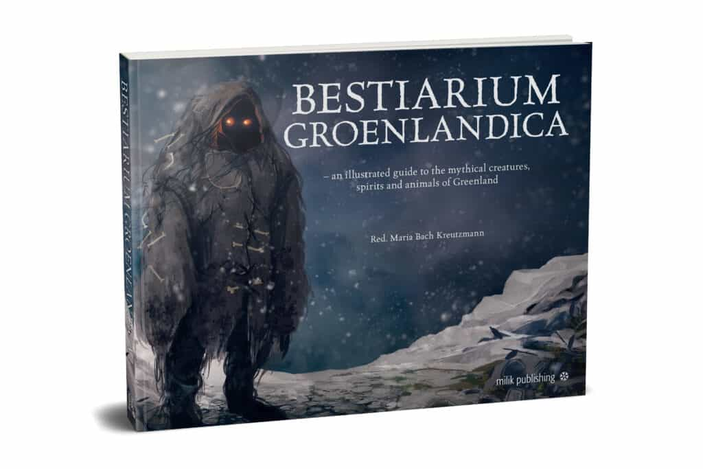Illustrated guide to the mythical creatures, spirits and animals of Greenland
