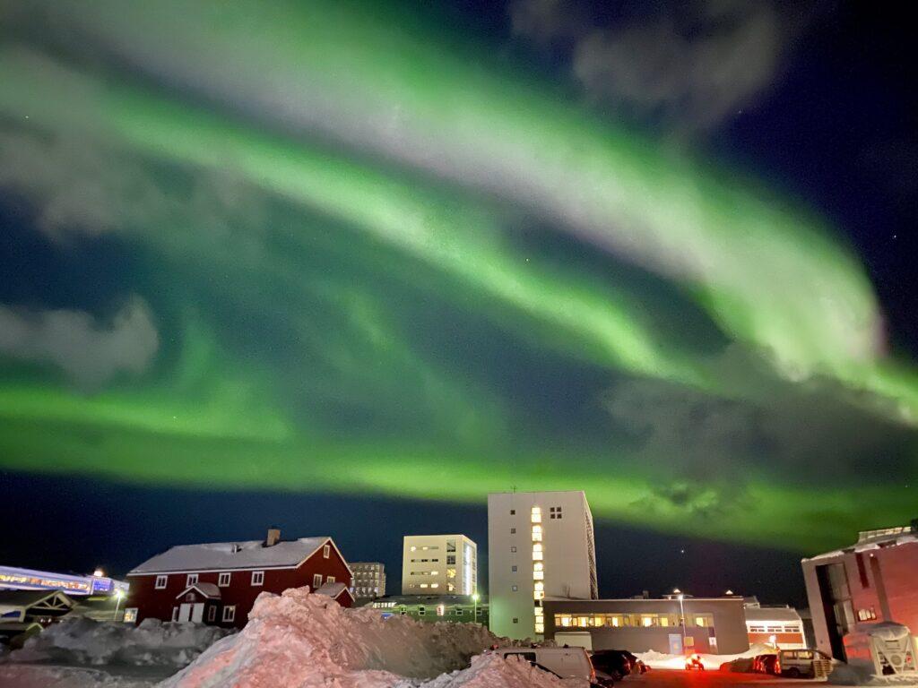 Northen Lights over Nuuk