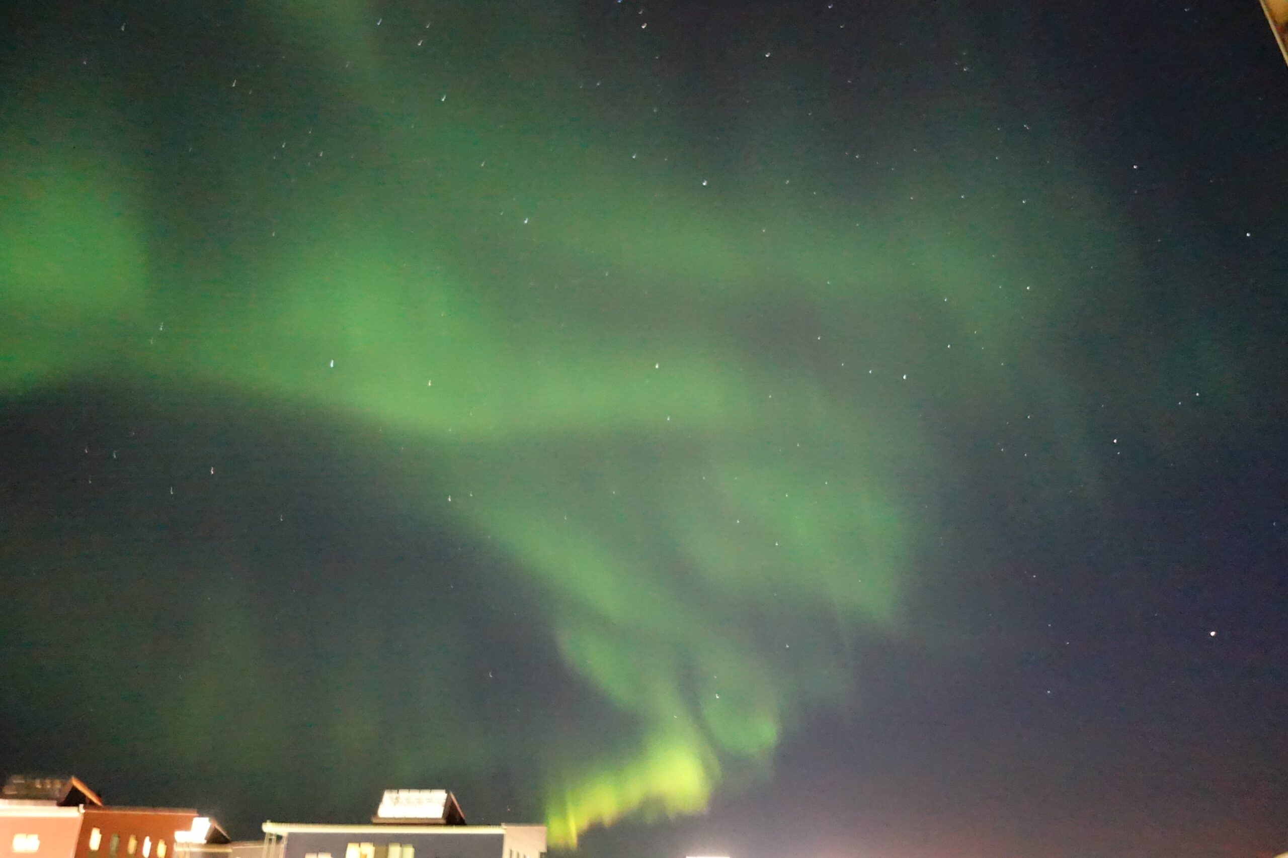 Northern lights are back to Nuuk!