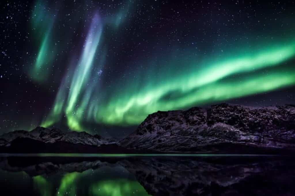 Northen lights near Sisimiut