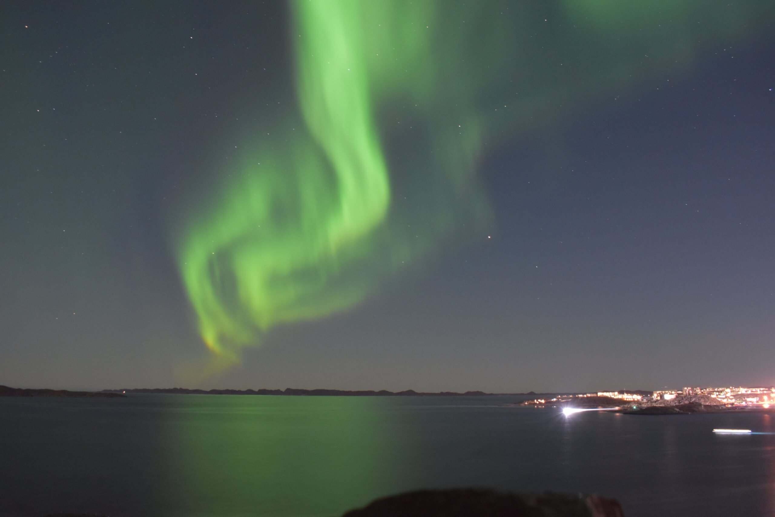 Nuuk, the Capital of the Northern Lights!