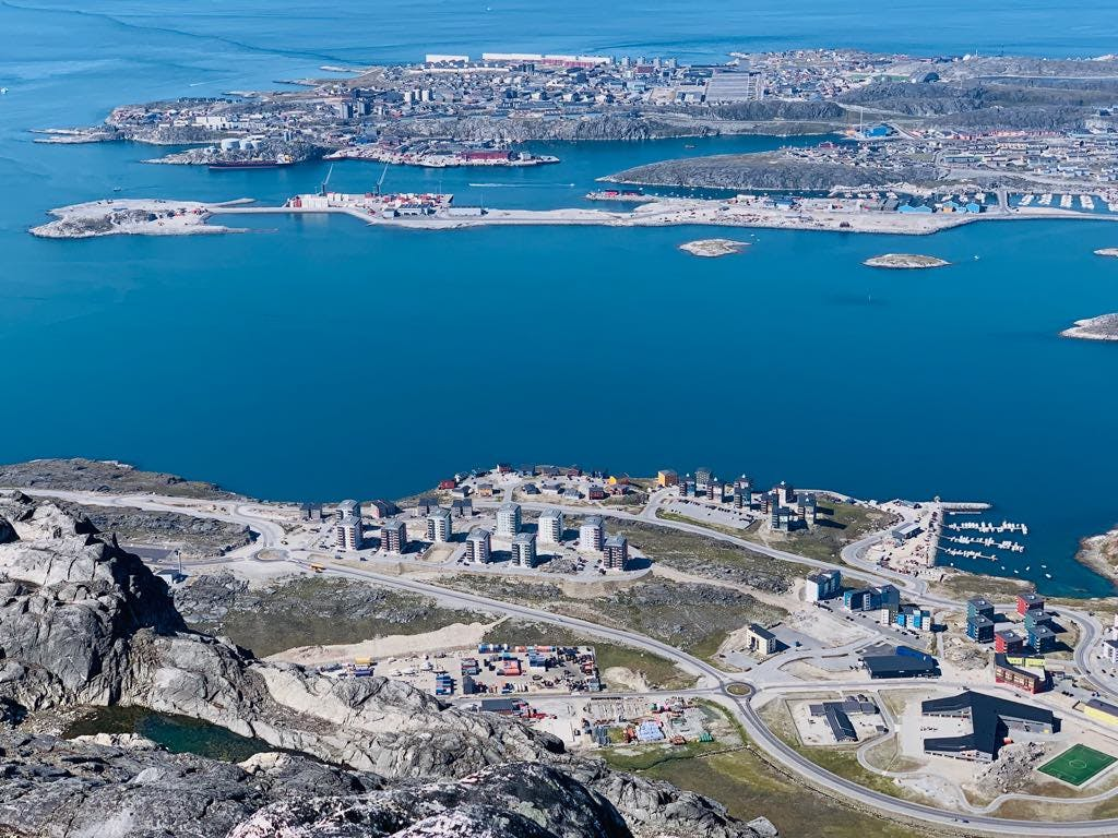 Overview of Nuuk