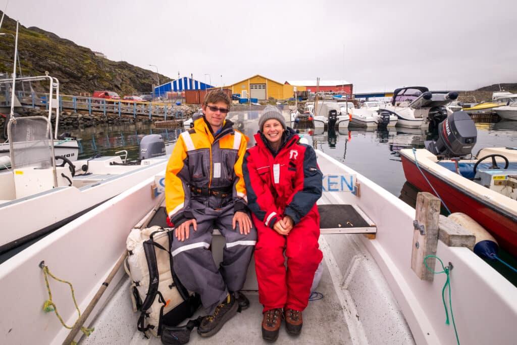 Open boat tour - Sisimiut