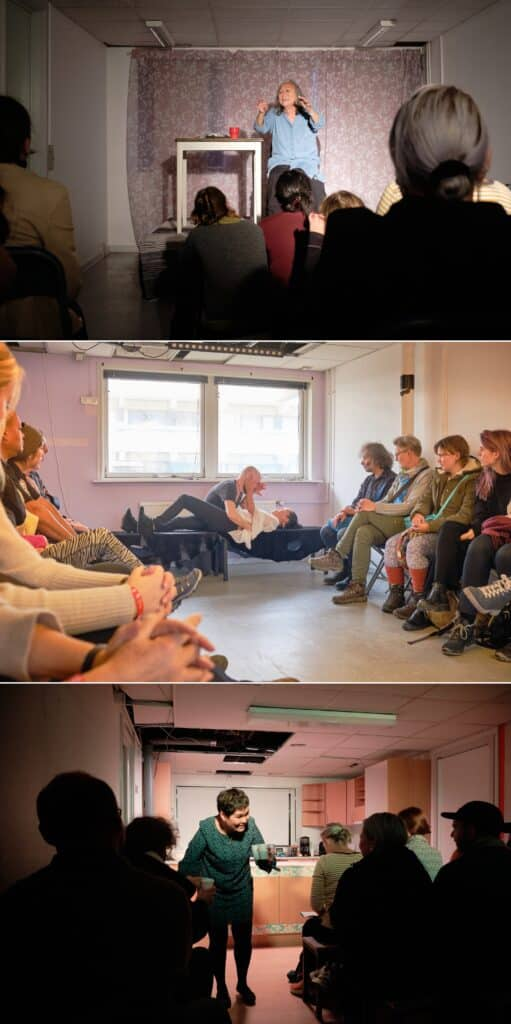 Scenes from performances at Nuuk Nordic Culture Festival 2019