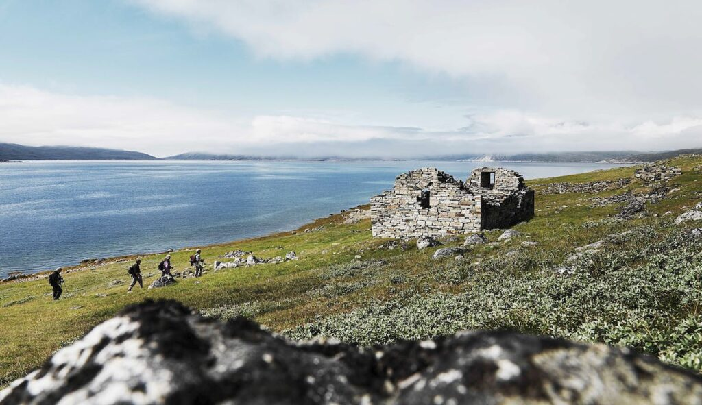 Norse ruins in South Greenland