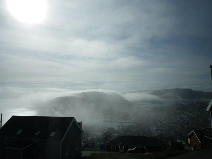Clouds over Qaqortoq
