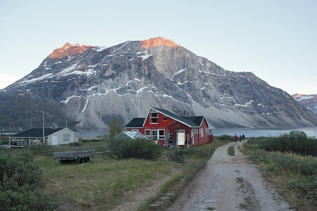 Qooqqut Nuan, a small settlement near Nuuk, the capital of Greenland