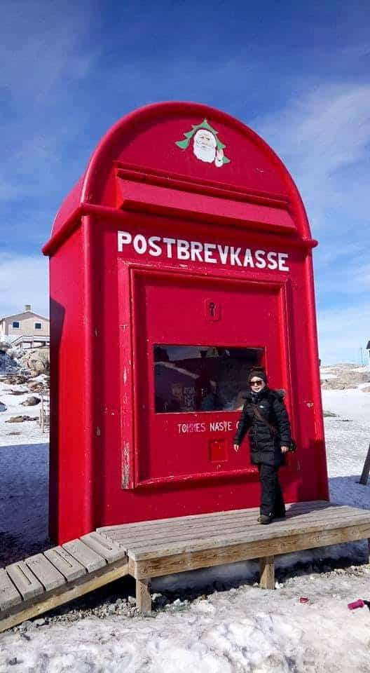 Large mailbox in Greenland