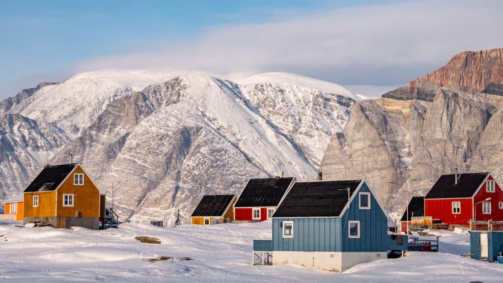 Small settlement near Nuuk