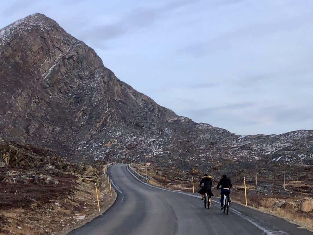 Biking in Sisimiut