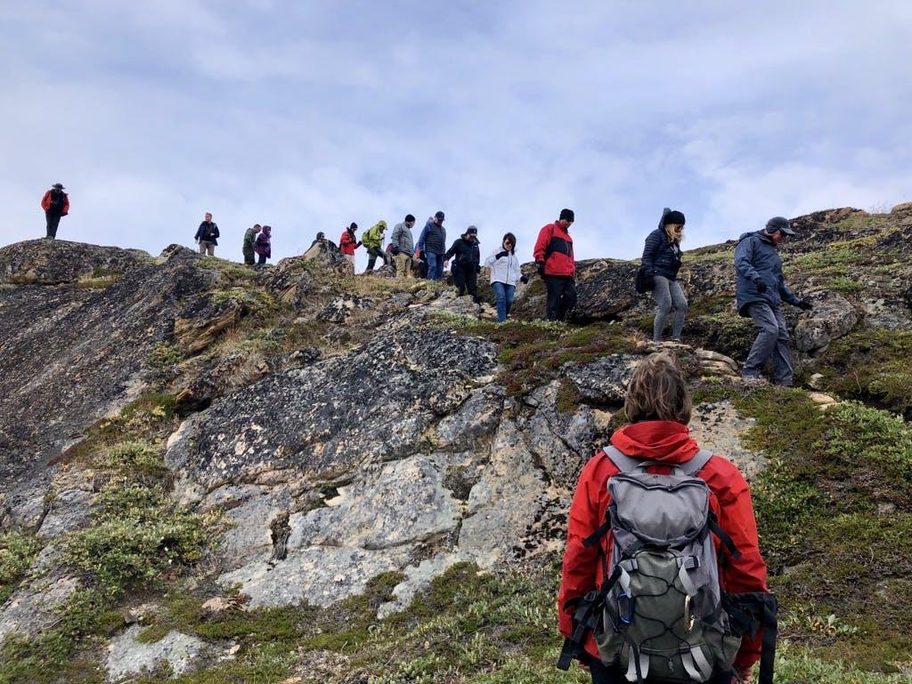 Hiking in Sisimiut