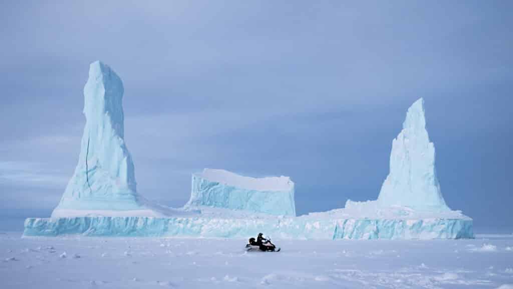 Uummannaq enormus icebergs