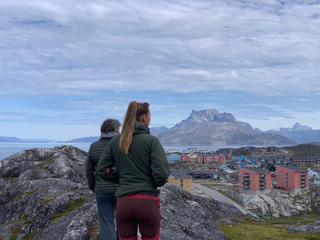 Walkning in Nuuk