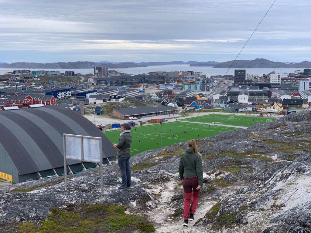Footballfields in Nuuk