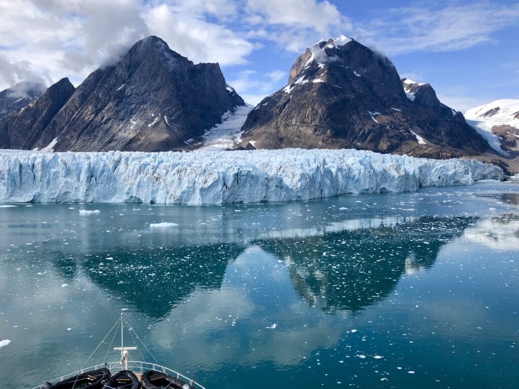 Glacier in East Greenland