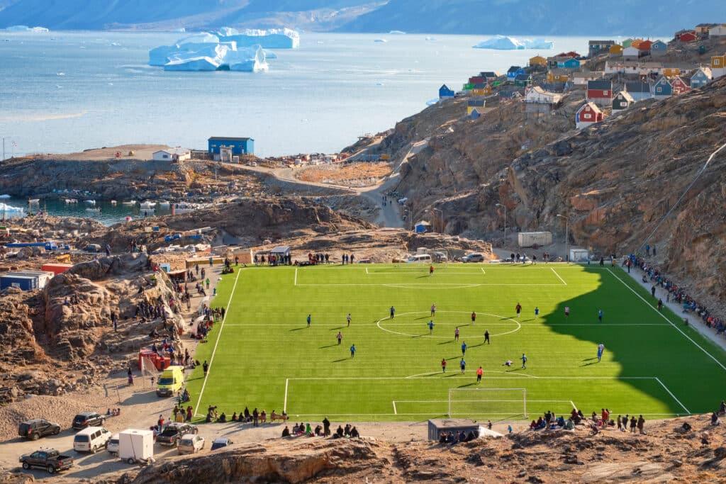 Uummannaq football field