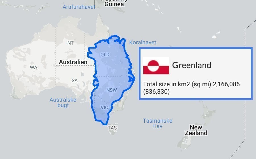 Where Is Greenland Located Location Map Of Greenland