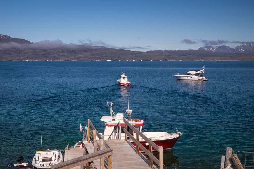 Boat tours in Qaqortoq