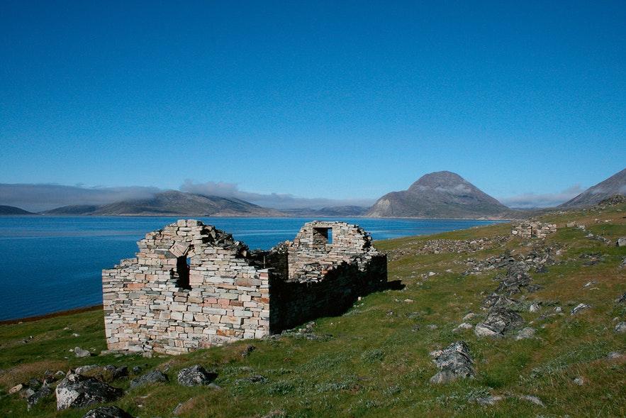 Old viking ruin