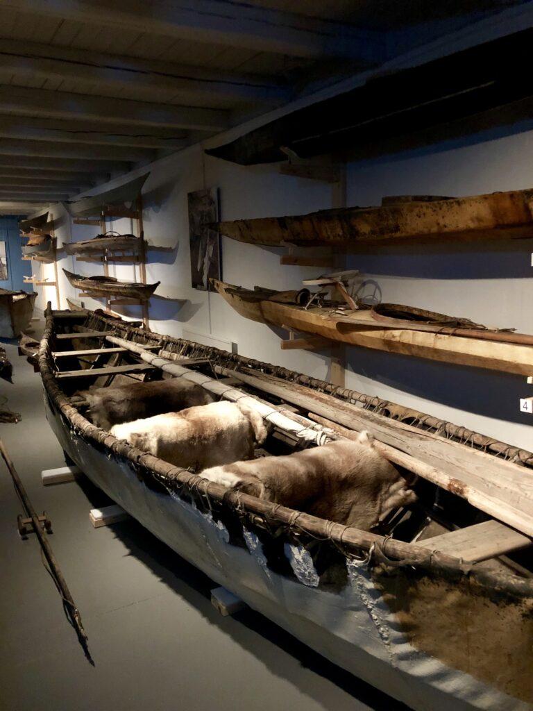 Old kayaks