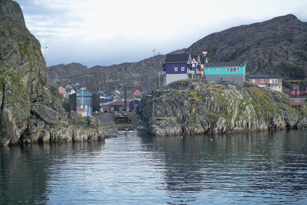 Maniitsoq from the water