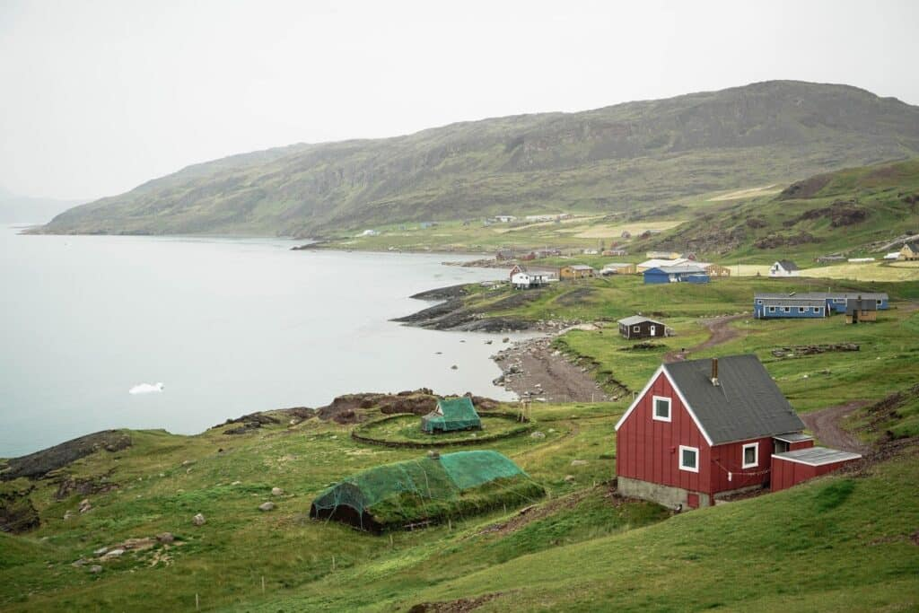 Little house in south greenland
