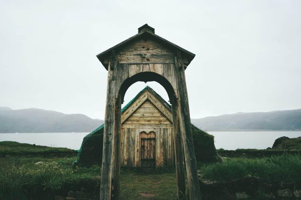 Old viking church