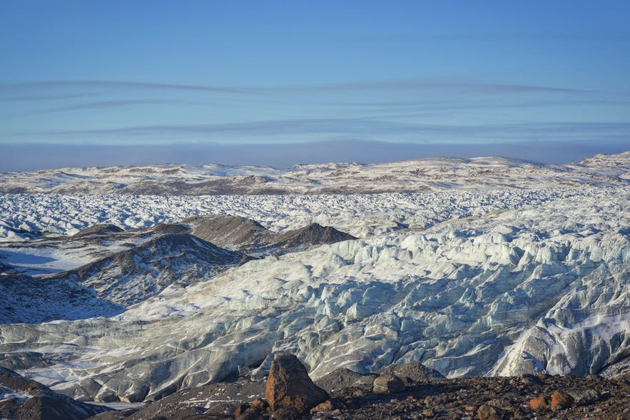 The ice sheet that covers our arctic dreams