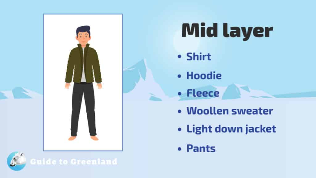 What to wear - mid layer