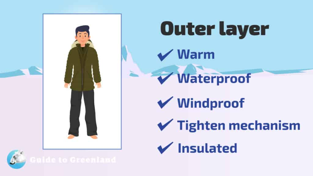 What to wear - outer layer