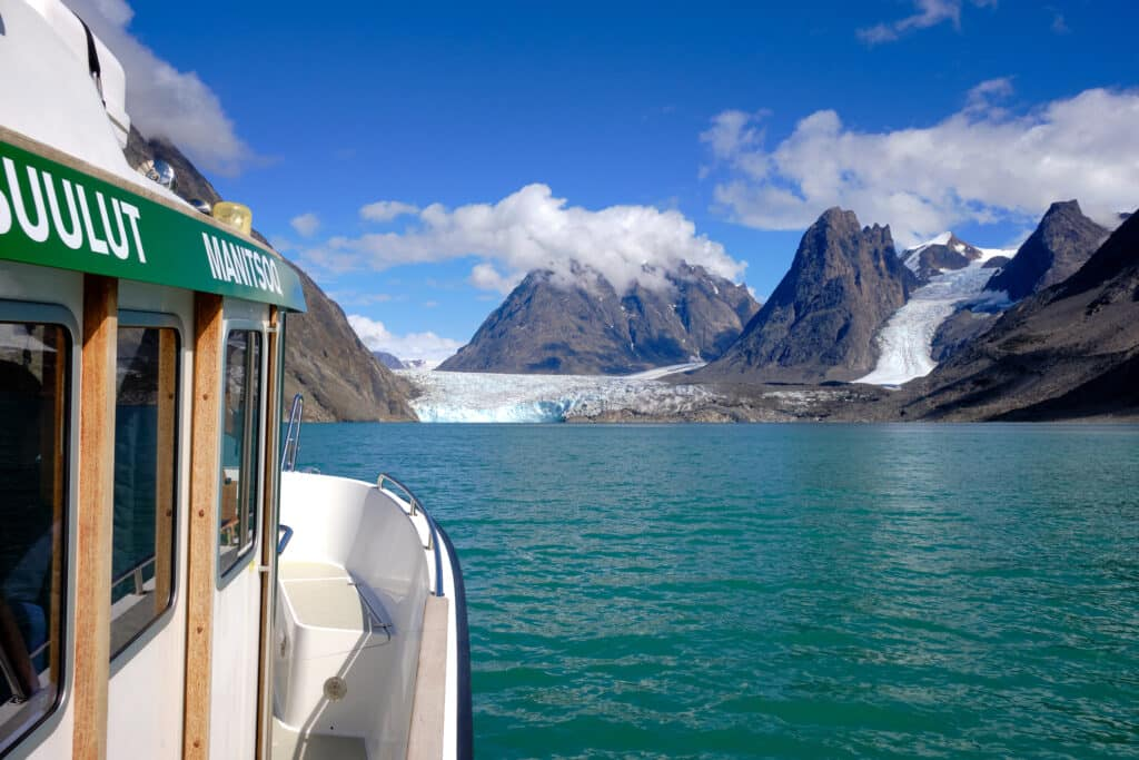 Boat tour to the Eternity Fjord north of Maniitsoq - Guide to Greenland