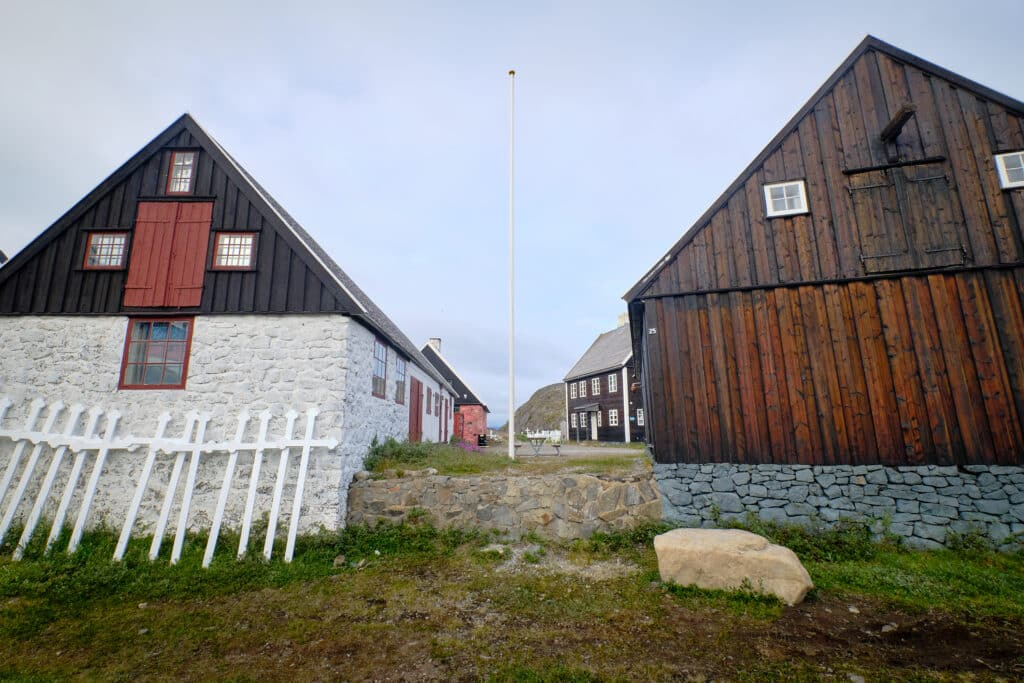 Exterior of the Maniitsoq museum - Guide to Greenland