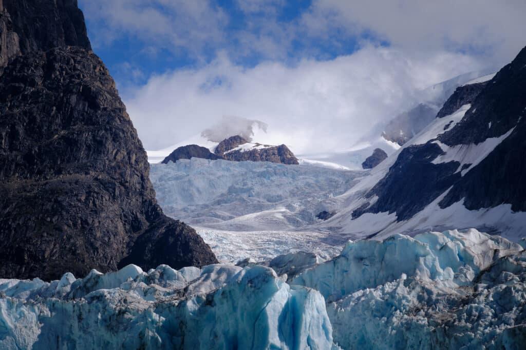 Glacier - Eternity Fjord near Maniitsoq - Guide to Greenland