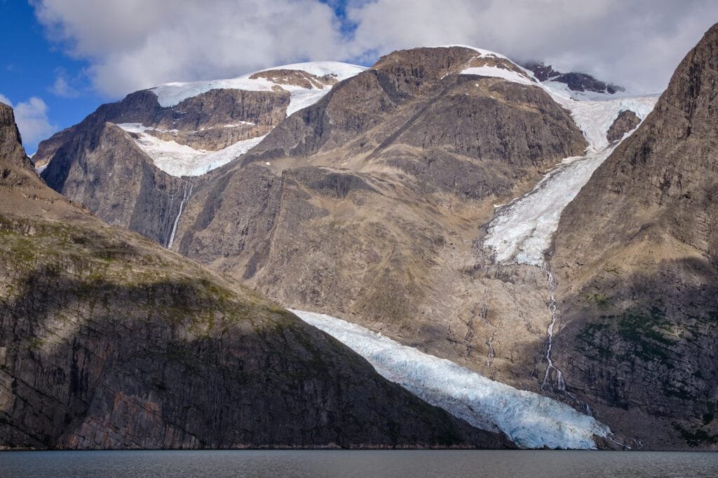 Glaciers everywhere in the Eternity Fjord near Maniitsoq -Guide to Greenland
