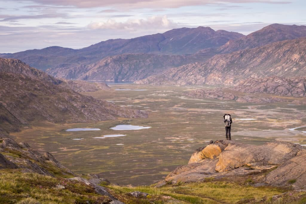 Hiking alone in the vast wilderness of Greenland on the Arctic Circle Trail - Guide to Greenland