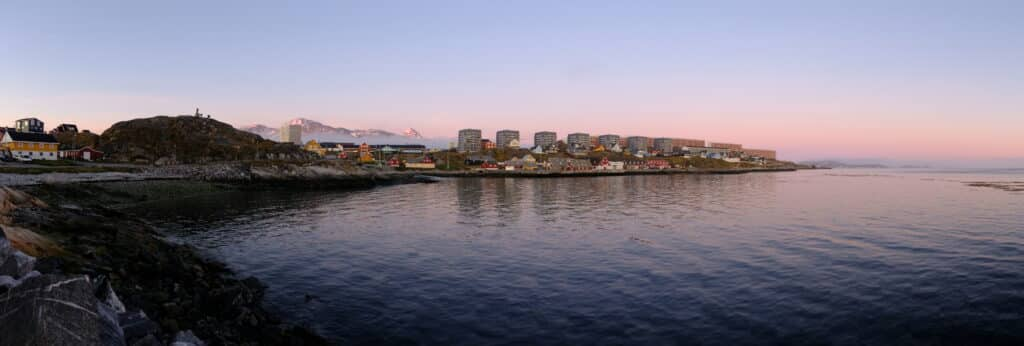Nuuk under the Midnight Sun on the longest day of the year - Guide to Greenland